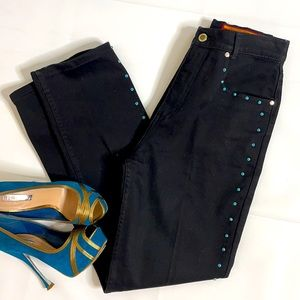 Vintage  high waisted Lawman studded jeans NWOT